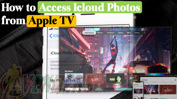How to Access I Cloud Photos from Apple TV.