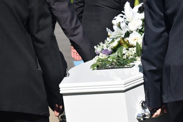 things happened during the funeral