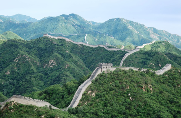 The Great Wall of China has some parts made with sticky rice
