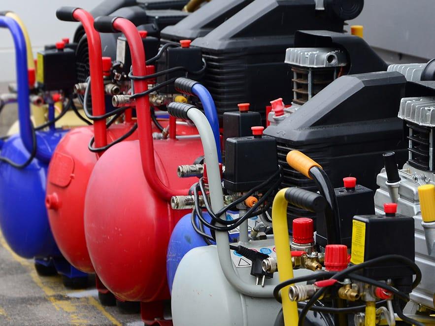 test compressors