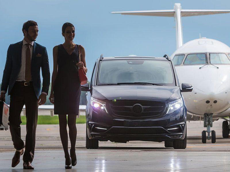 Transportation Means Reach Airport