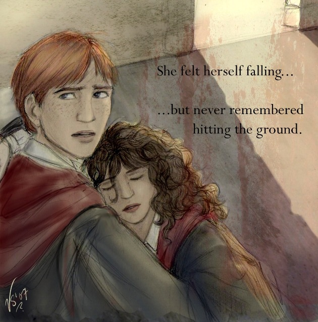 Romione fanfiction , the love story of Ron and Hermoine